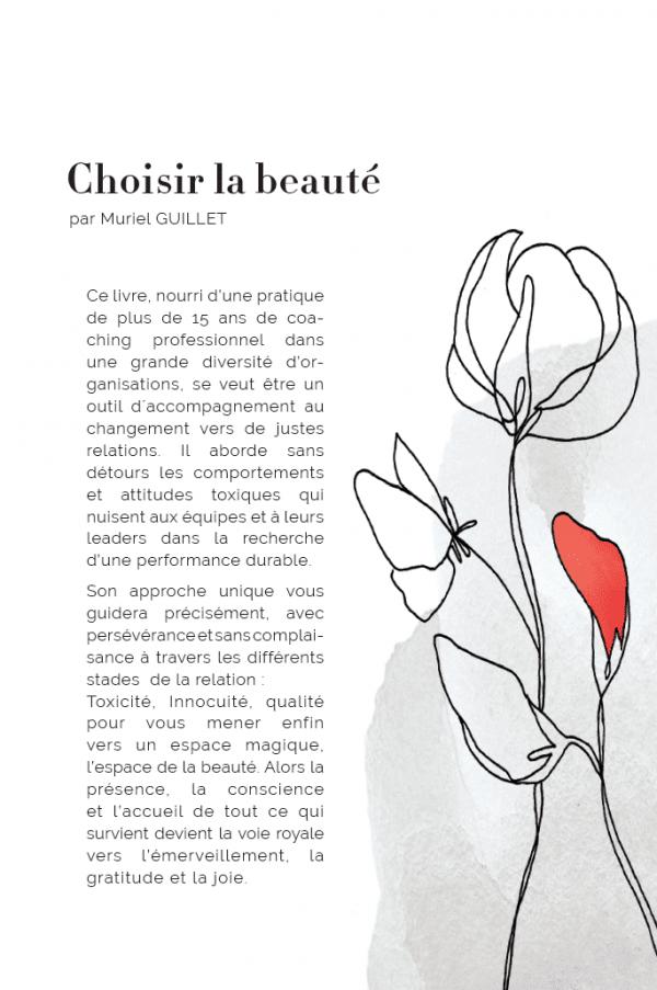 4ème de couverture Choisir la Beauté